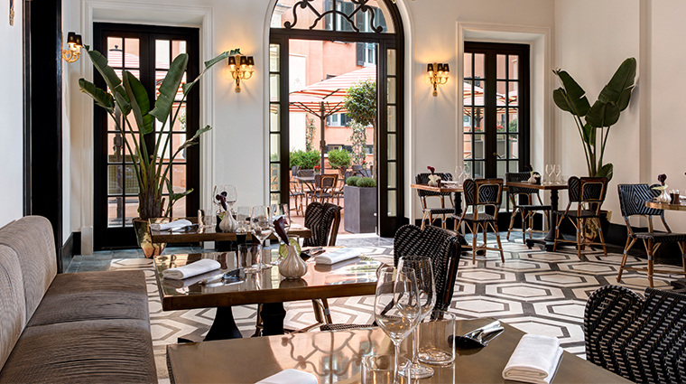 hotel de la ville mosaico restaurant2