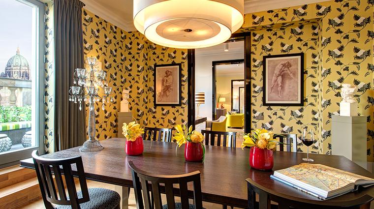Hotel de Rome bebel suite