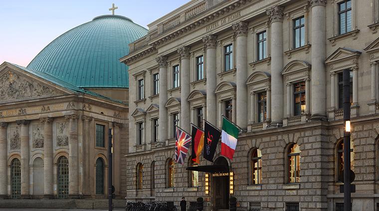 Hotel de Rome exterior