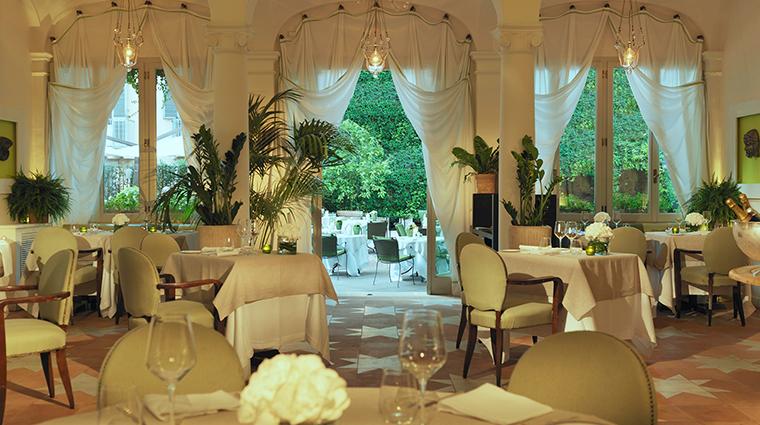 Hotel de Russie restaurant