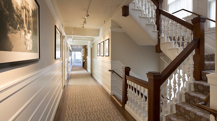 hotel drisco hallway