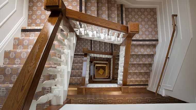 hotel drisco staircase