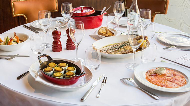 Hotel Du Louvre Brasserie Du Louvre Bocuse Table Sharing