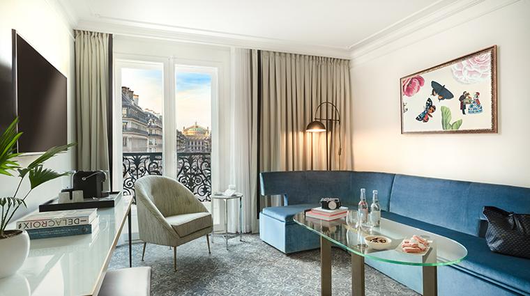 Hotel Du Louvre Executive Livingroom