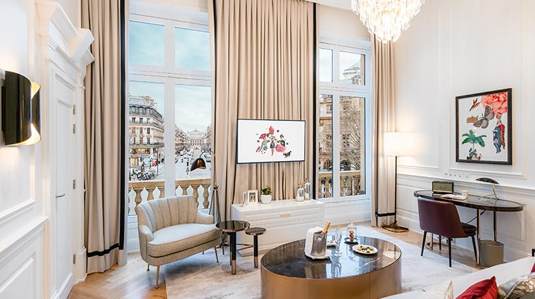 Hotel Du Louvre Suite Pissarro Linving Room