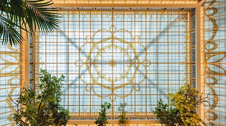 hotel du louvre a hyatt hotel Paraz Officine Du Louvre Glass Roof