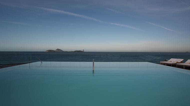 Fasano Rio de Janeiro pool ocean