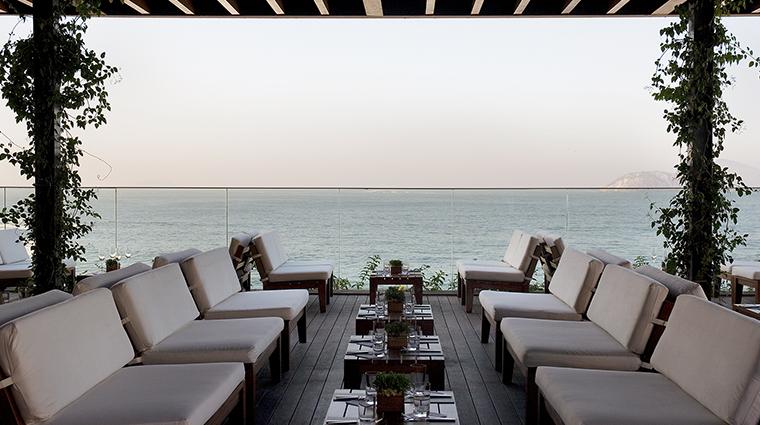 Fasano Rio de Janeiro restaurant view