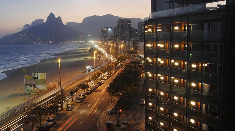Fasano Rio de Janeiro view night