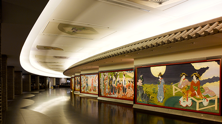hotel gajoen tokyo corridor