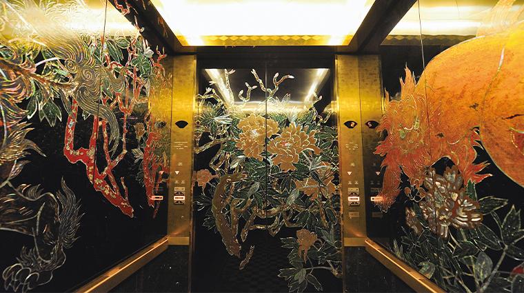 hotel gajoen tokyo elevator