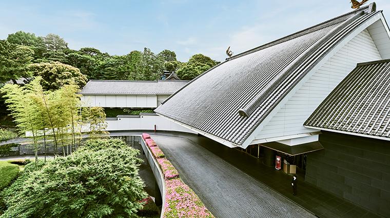 hotel gajoen tokyo entrance