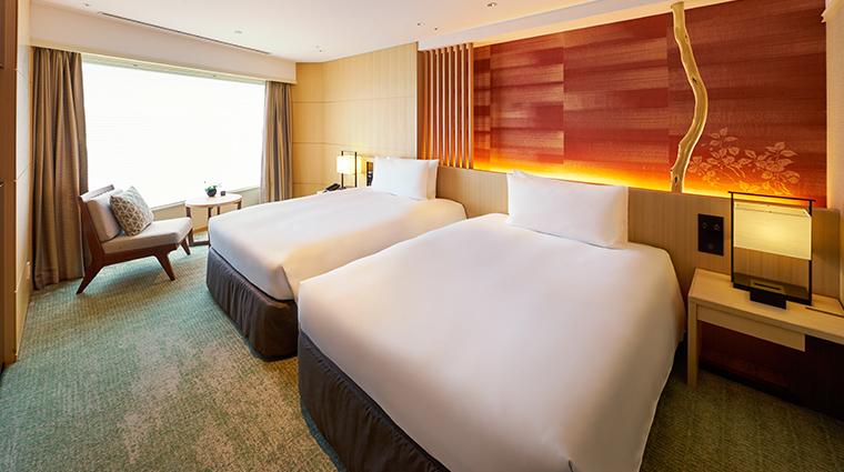 hotel gajoen tokyo executive suite bedroom