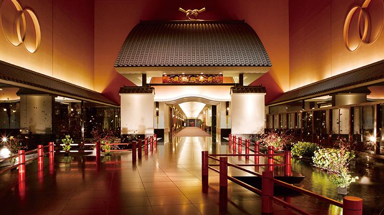 hotel gajoen tokyo great gate of fortune