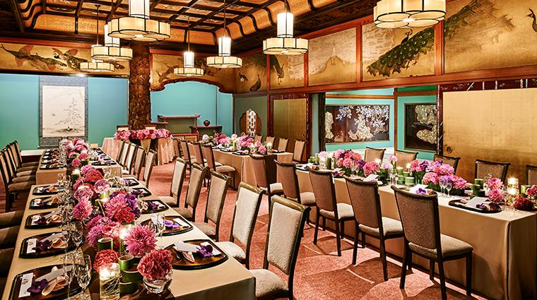 hotel gajoen tokyo traditional banquet