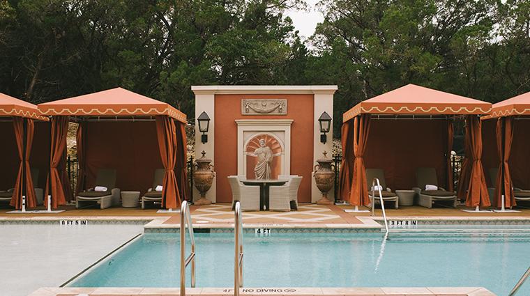 hotel granduca austin pool cabanas