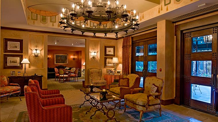 Hotel Granduca lobby