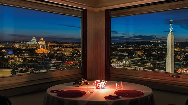 hotel hassler roma imago restaurant