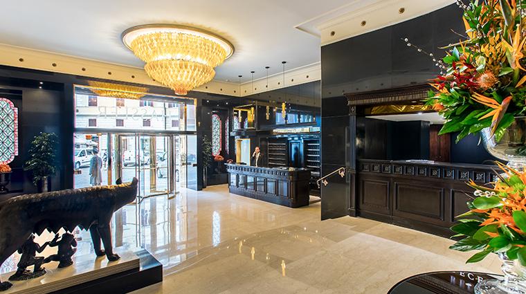 hotel hassler roma new lobby