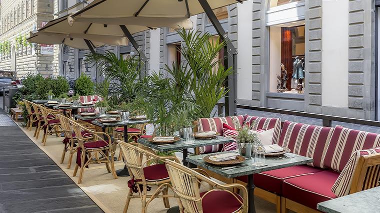 helvetia bristol firenze starhotels collezione outdoor dining
