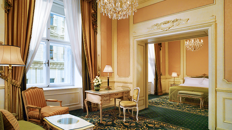 hotel imperial a luxury collection hotel Elisabeth suite