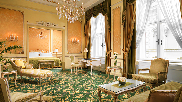 hotel imperial a luxury collection hotel Maria Theresia Suite living room