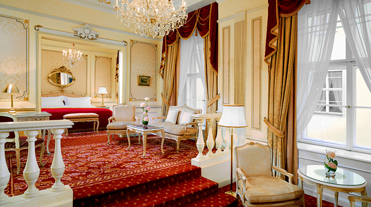 hotel imperial a luxury collection hotel Maria Theresia Suite