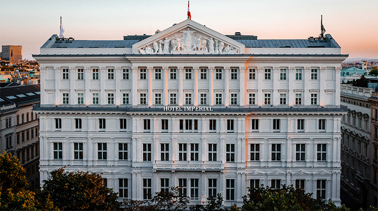 hotel imperial a luxury collection hotel vienna 2021 facade