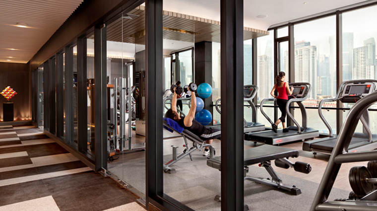 hotel indigo shanghai on the bund public spaces gym