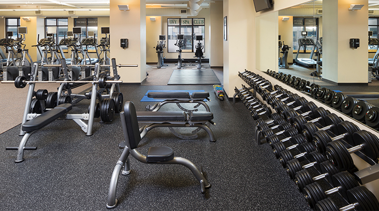 hotel ivy a luxury collection hotel fitness center