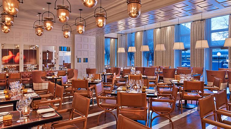 hotel jerome Prospect dining