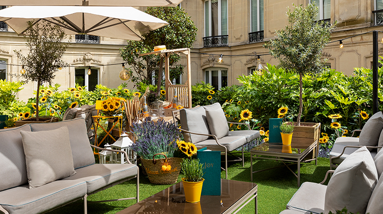 hotel le fouquets paris Le Joy