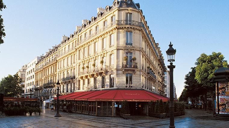 hotel le fouquets paris exterior
