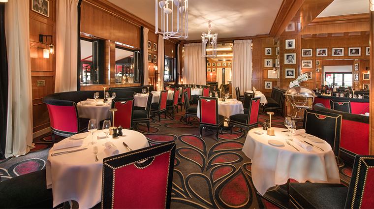 hotel le fouquets paris restaurant