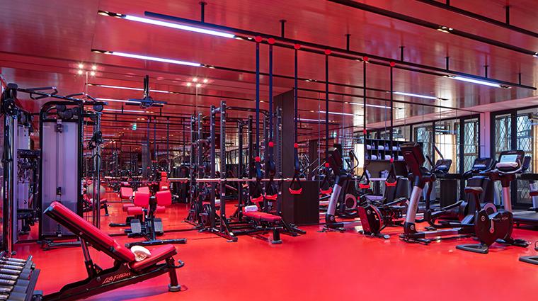 hotel lutetia fitness room