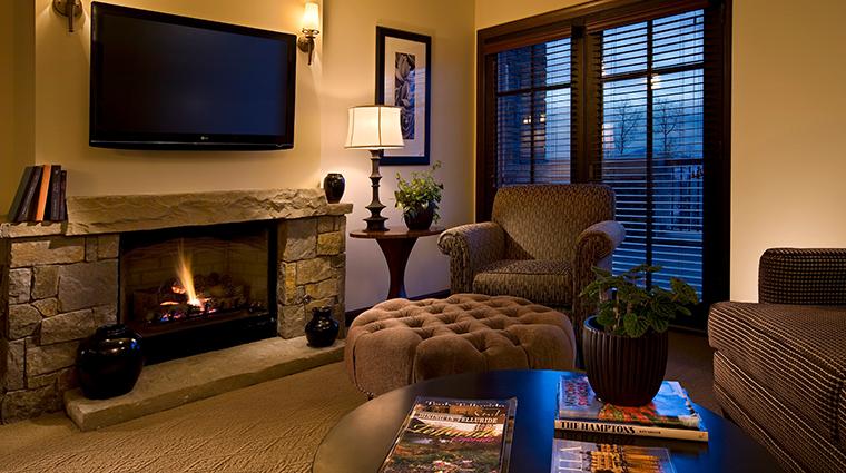 hotel madeline telluride guestroom living room