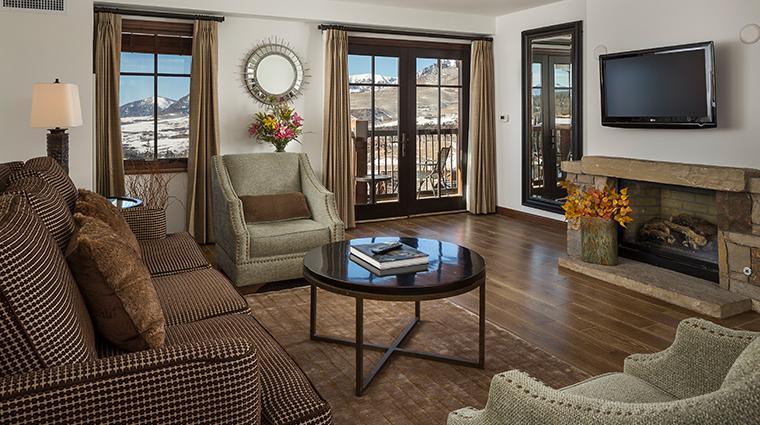 hotel madeline telluride living room