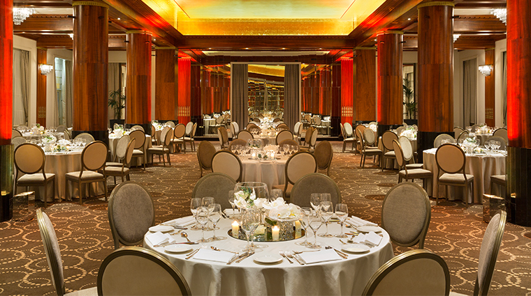 hotel barriere le majestic event space