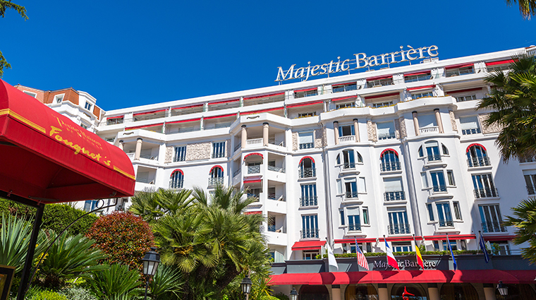 hotel barriere le majestic exterior day