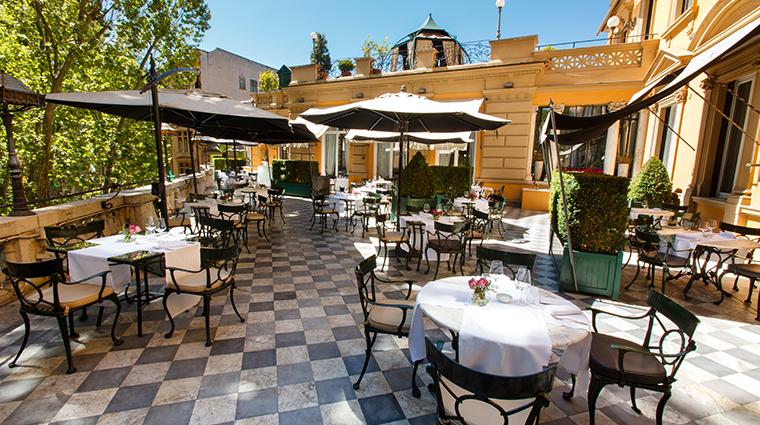 hotel majestic roma terrace