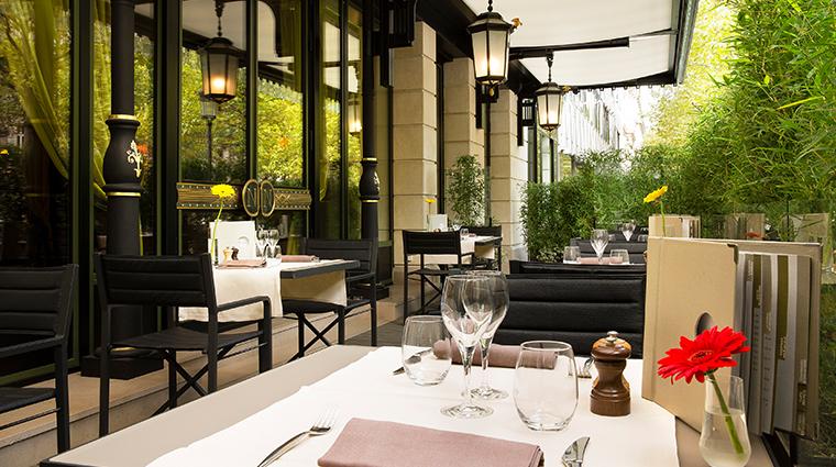 hotel napoleon paris Terrasse