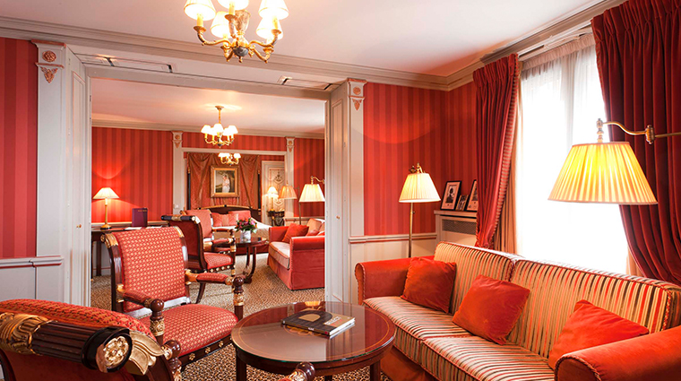hotel napoleon paris Youssoupov suite