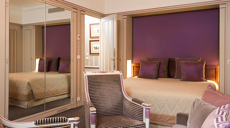 hotel napoleon paris executive room purple