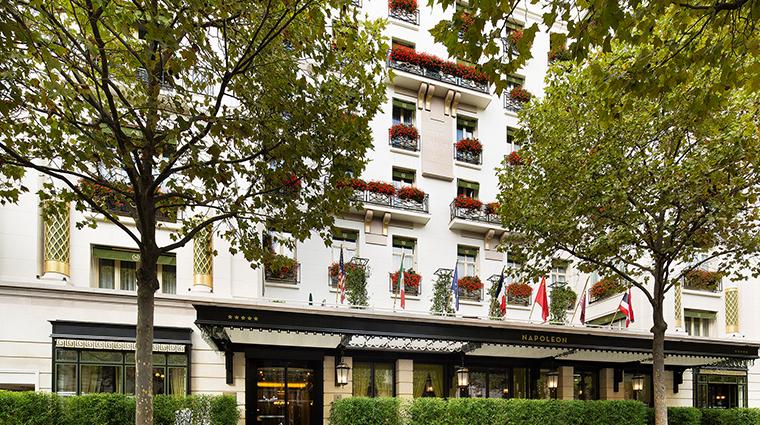 hotel napoleon paris exterior
