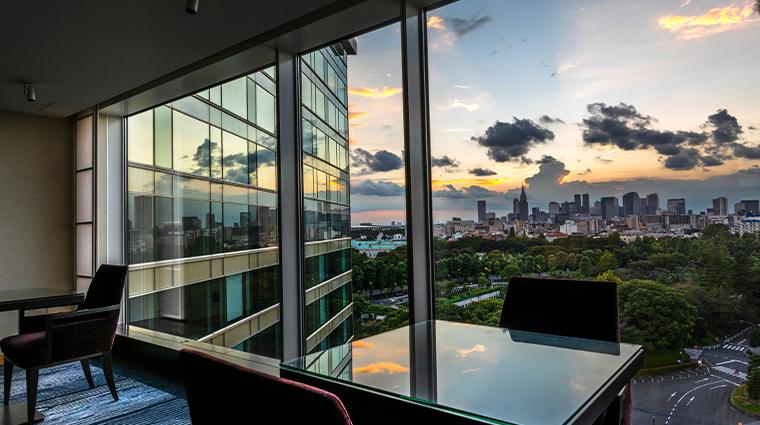 hotel new otani tokyo executive house zen executive lounge view day