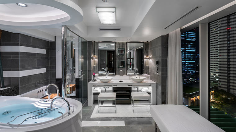 hotel new otani tokyo executive house zen new garden suite bathroom