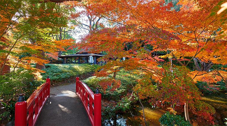 hotel new otani tokyo the main Japanse Garden autumn