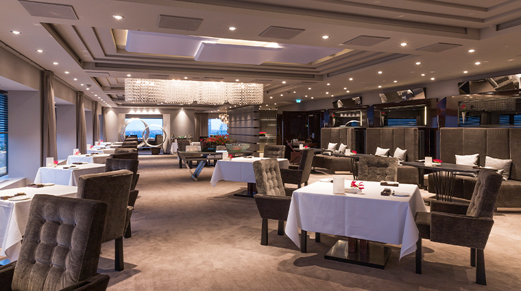 hotel okura amsterdam ciel bleu restaurant overview