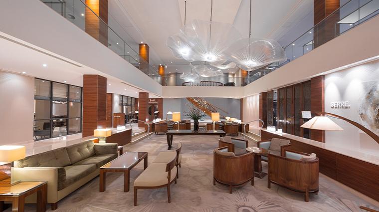 hotel okura amsterdam lobby overview