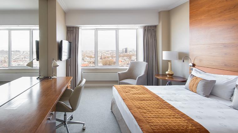 hotel okura amsterdam superior city view room bedroom
